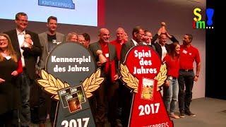 Bericht: Spiel des Jahres Verleihung 2017