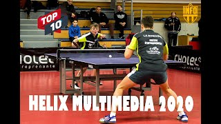 CHALLENGE HELIX MULTIMEDIA 2020 | TOP 10 | TABLE TENNIS