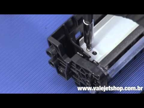 Hướng dẫn nạp mực máy in Canon LBP 8100