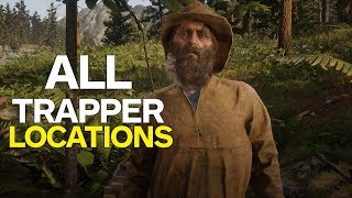 Red Dead 2: All Trapper Locations