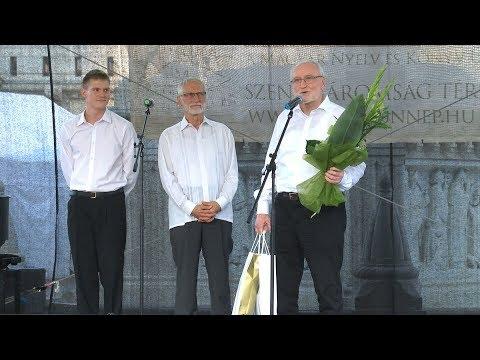 Budavári Könyvünnep 2018 - Blaskó Péter köszöntése - video preview image