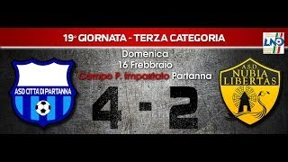 preview picture of video '19° Giornata Terza Categoria - Partanna - ASD Nubia Libertas 4-2'