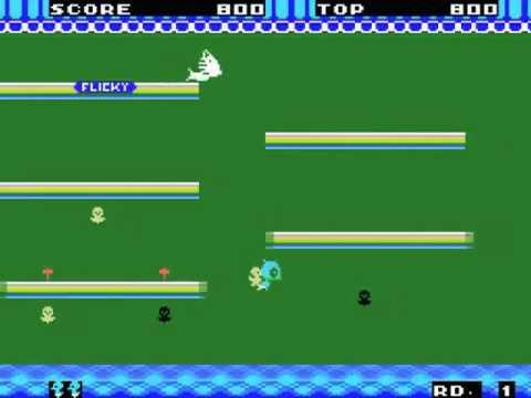 Flicky Japan MSX Gameplay video Snapshot