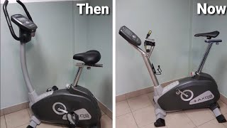 How to rebuild exercise bike to MTB training machine.  Kettler Axos.