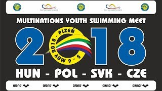 🏊 Multinations Youth Swimming Meet 2018 - sunday morning