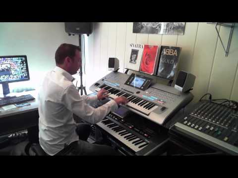 ABBA I Do, I Do, I Do, I Do, I Do Performed On Yamaha Tyros 4 And Roland G70 By Rico