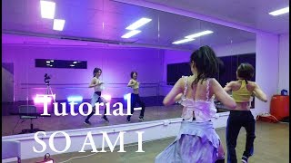 So Am I Mirrored So Am I Tutorial Ara Cho Choreography