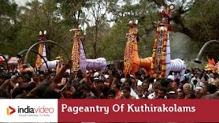Pageantry of Kuthirakolams at Machattu Mamangam