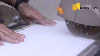 How to Cut Milk Glass Tile