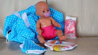 Puppenwindel für BabyBorn und andere Baby Puppen die Pipi machen können