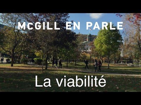 McGill en parle - La viabilité
