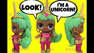 LOL Surprise Doll  GENIE UNICORN CUSTOM + Doll Story Video by Girly Girlz