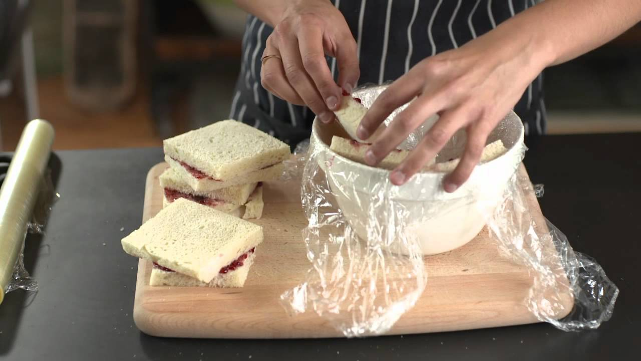 How To – assemble a summer pudding