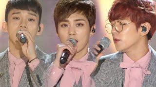 《BOF》 EXO-CBX(첸백시) - For You (너를 위해) (보보경심:려 OST) @인기가요 Inkigayo 20161030