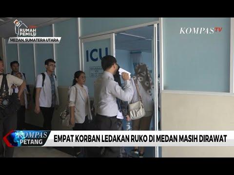 Empat Korban Ledakan Ruko di Medan Masih Dirawat