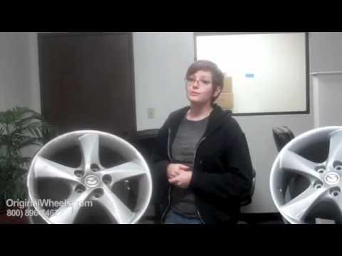 B4000 Rims & B4000 Wheels - Video of Mazda Factory, Original, OEM, stock new & used rim Co.