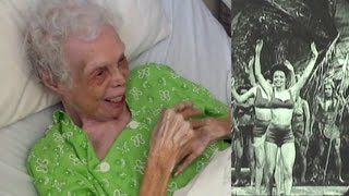 102-Year-Old Woman Shocked to See Herself Dancing on Film for The First Time