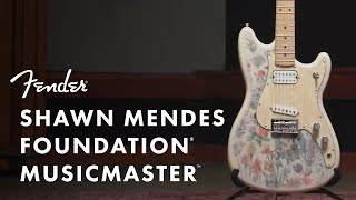 Shawn Mendes Foundation Musicmaster | Artist Signature Series | Fender