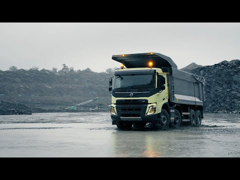 Volvo Trucks – The new Volvo FMX - Push the limits of productivity