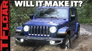 Can a New Jeep Wrangler SAHARA take on the RUBICON Trail? Only One Way to Find Out!