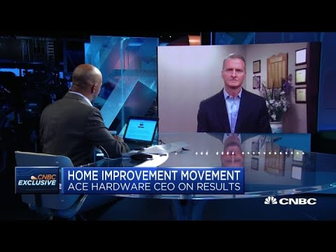 , title : 'Ace Hardware CEO John Venhuizen on the company's strong earnings