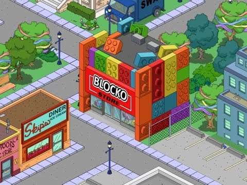 The Simpsons: Tapped Out - Blocko Store