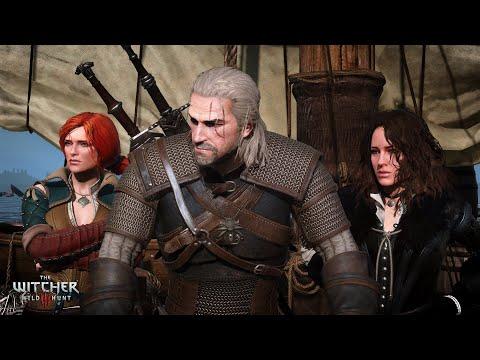 Ведьмак3 Wild Hunt Прохождение с комментариями Сложность На Смерть Новая Игра+  Стрим Финал Часть 49