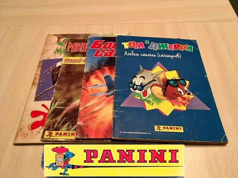 Журналы с наклейками из детства, 95-98 год, PANINI, Стикеры