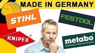 LOHNT MADE IN GERMANY? WAS STECKT HINTER STIHL, FESTOOL, KNIPEX & CO? | WERKZEUG NEWS 141