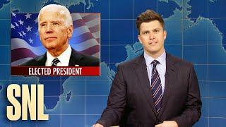Weekend Update: Biden Wins 2020 Election - SNL