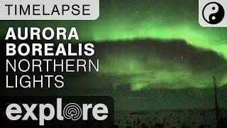 Aurora Borealis Northern Lights - LiveCam Time Lapse 03/09/17