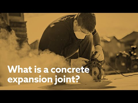 What is a concrete expansion joint and why does it matter? We asked one of our experts and here's what we found out.