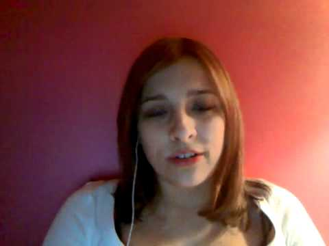Alex singing Country Strong's verison of-Give into me.wmv