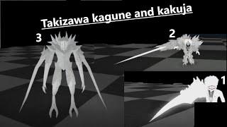 Roblox - Ro-Ghoul - Takizawa Kagune and Kakujas Showcase