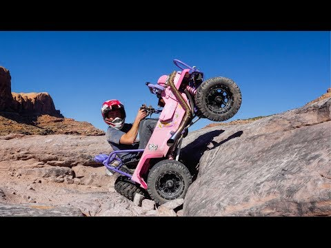 Barbie Jeep Rips Moab Trails!