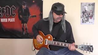 AC/DC - Ruff Stuff cover by RhythmGuitarX