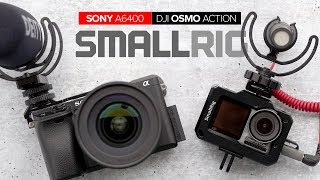 NEW DJI Osmo Action and Sony a6400 Mounts by SmallRig