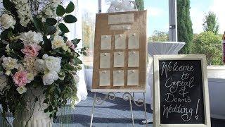 Wedding DIY Rustic Table Number Board