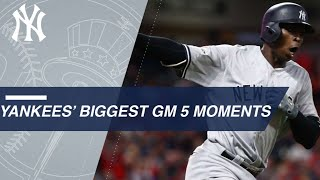 Watch the Yankees' big moments from ALDS Gm 5 | Kholo.pk