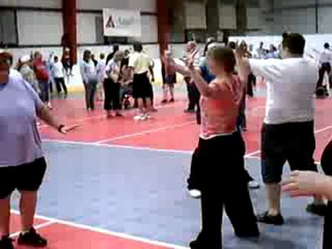 Watch video Down Syndrome: Special Olympics Classic Dance 1