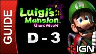 Luigi's Mansion: Dark Moon Walkthrough - D-3: Across the Chasm
