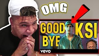 REACTING TO LOGAN PAUL - GOODBYE KSI (DISS TRACK) FEAT. KSI