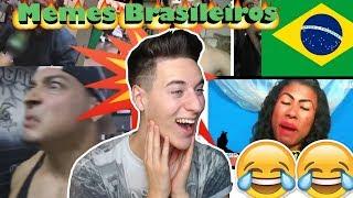 REAGINDO A MEMES BRASILEIROS (South America Memes)