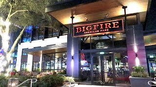 New Restaurant Opens At Universal Orlando CityWalk! | Bigfire American Fare Food Reviews!
