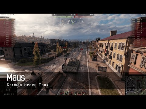 World of Tanks – German Tech Tree - Heavy tank – Maus – Ensk