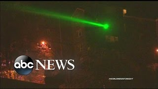 Two Suspects Under Arrest After Flashing a Laser at a News Helicopter in New York