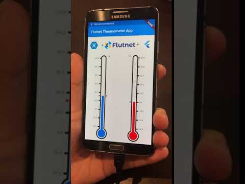 Android HID/USB with Flutter and .NET