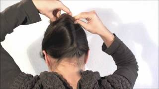 [Hairstyle] 1 Minute French Twist With A Stick