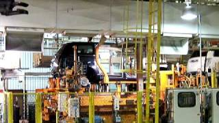 preview picture of video '2009 Chrysler Town & Country minivan running gear meets the body at the factory'