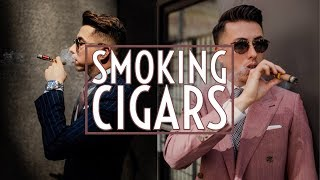 How To: Smoke Cigars for Beginners || Top 5 || Gent's Lounge 2018